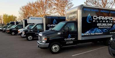 Water Heater Replacement Trucks